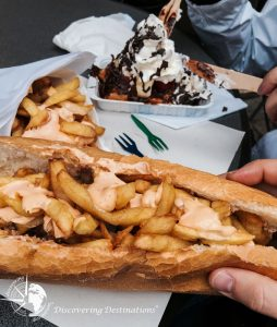 Discovering where to eat - belgium street food