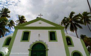 Discovering Praia de Carneiros - Sao Benedito chapel