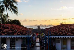 Discovering Olinda sunset