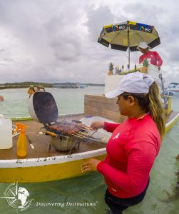 discovering Maragogi - bbq on water