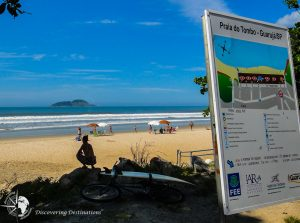Discovering FREE beaches - Guaruja
