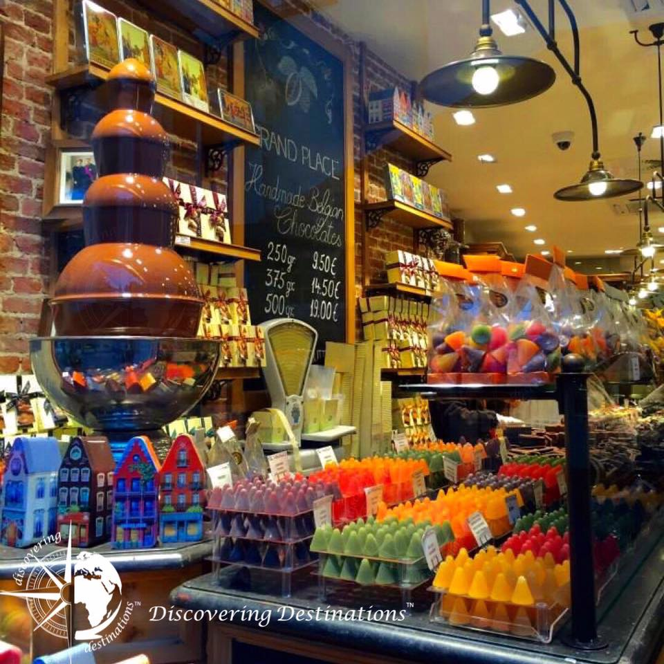 Discovering chocolates - Bruges