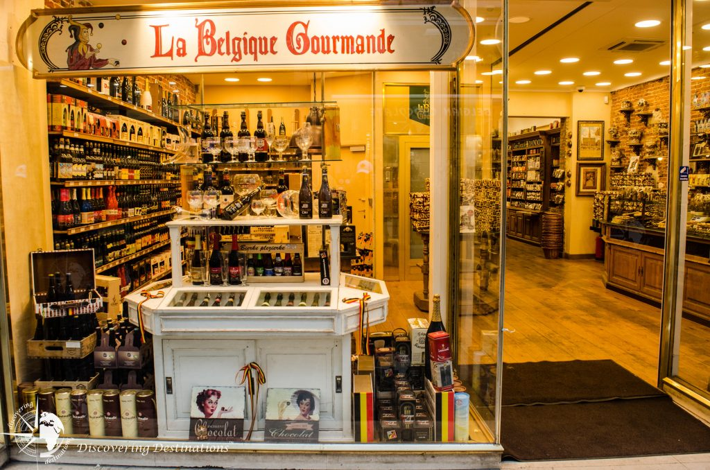 Discovering chocolates - Brussels