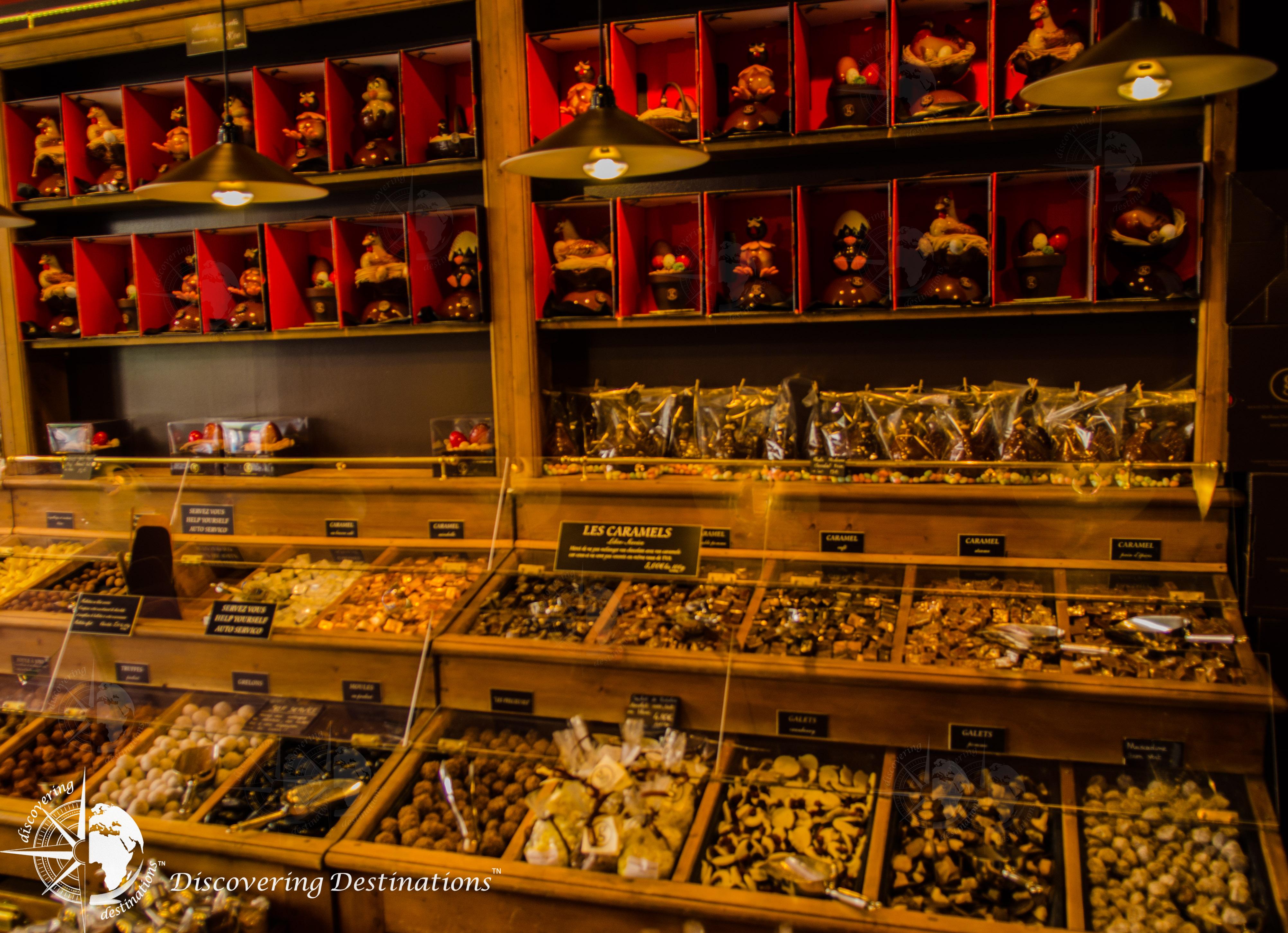 Discovering chocolates - Paris