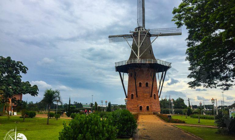 Discovering São Paulo - holambra windmill
