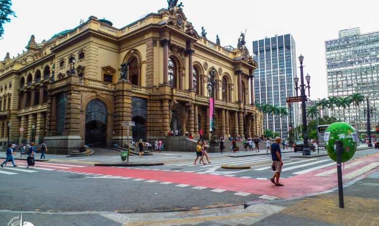Countryside of São Paulo - municipal theatre