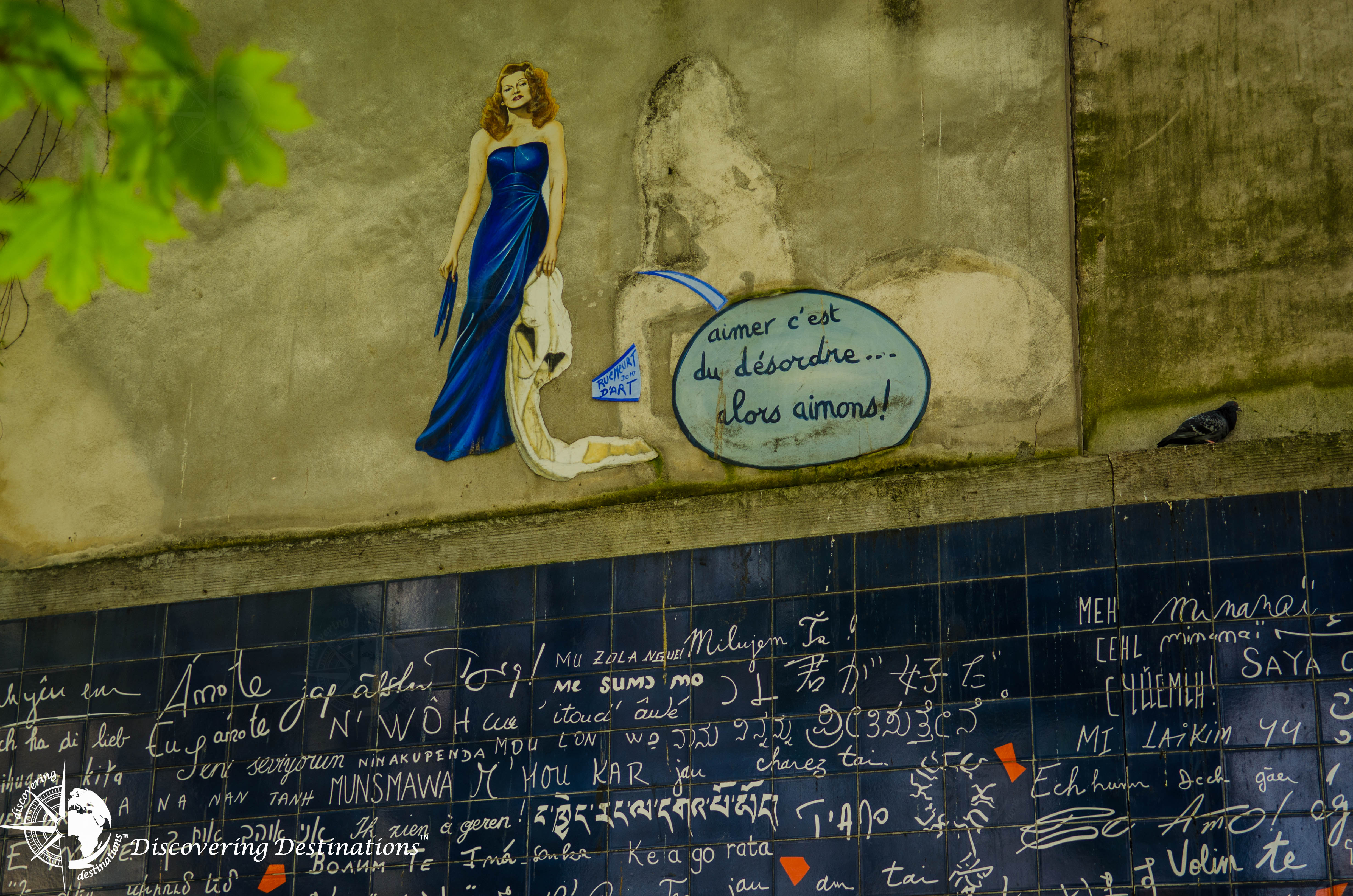 Discovering Mur Des Je T Aime Paris