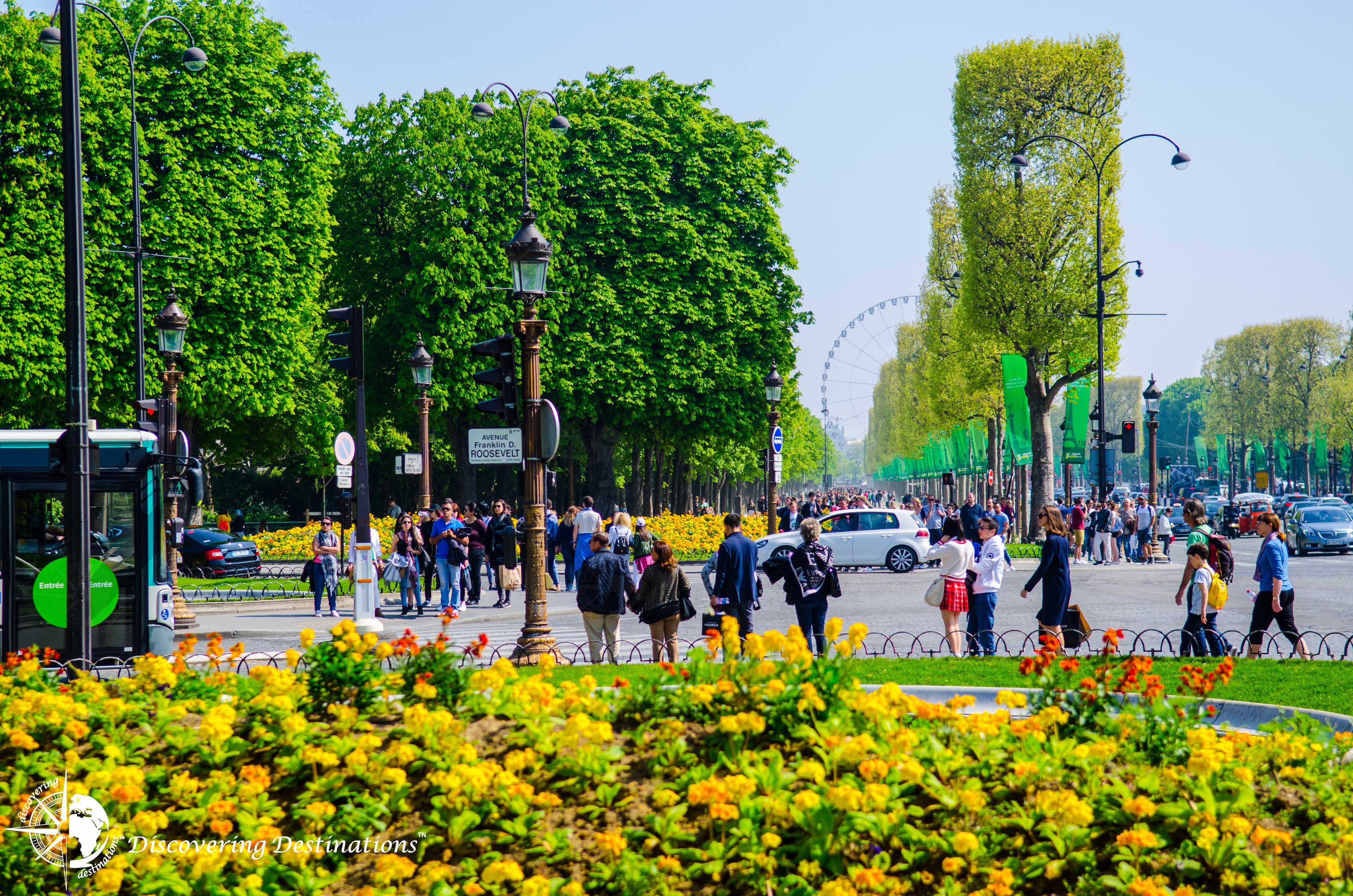 view of Garden des Tuileries