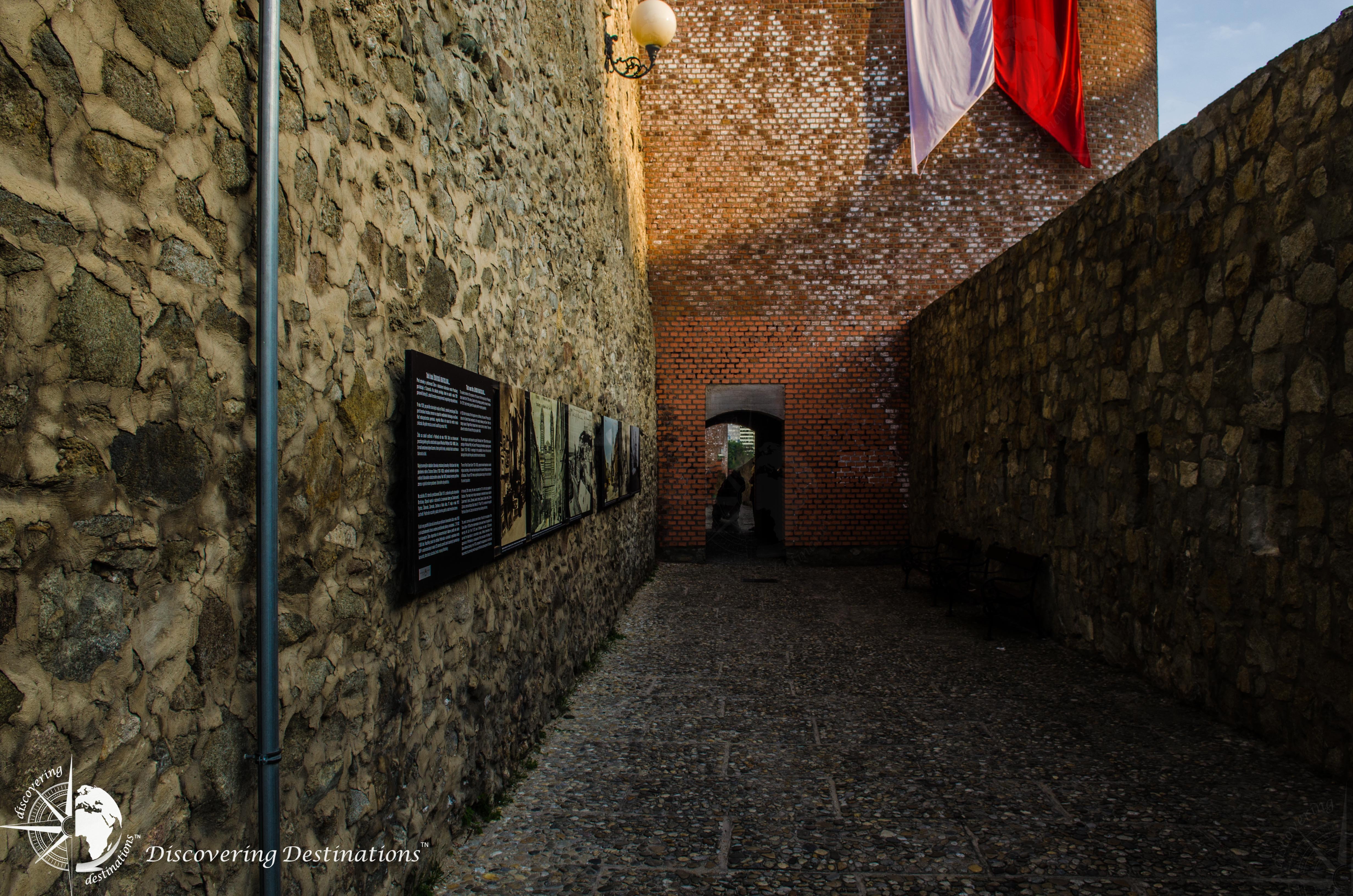 Discovering Bratislava city gate