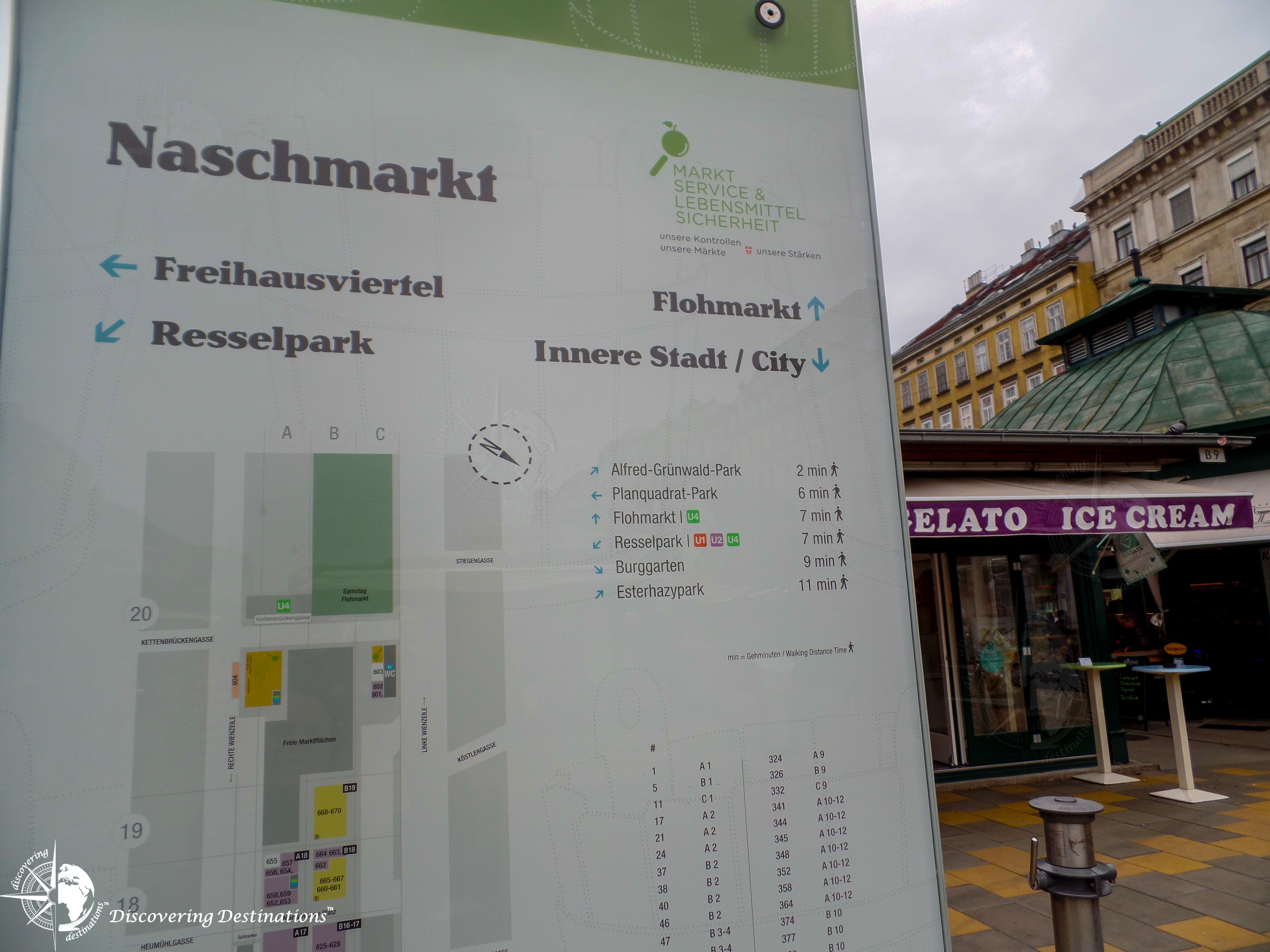 Discovering Naschmarkt