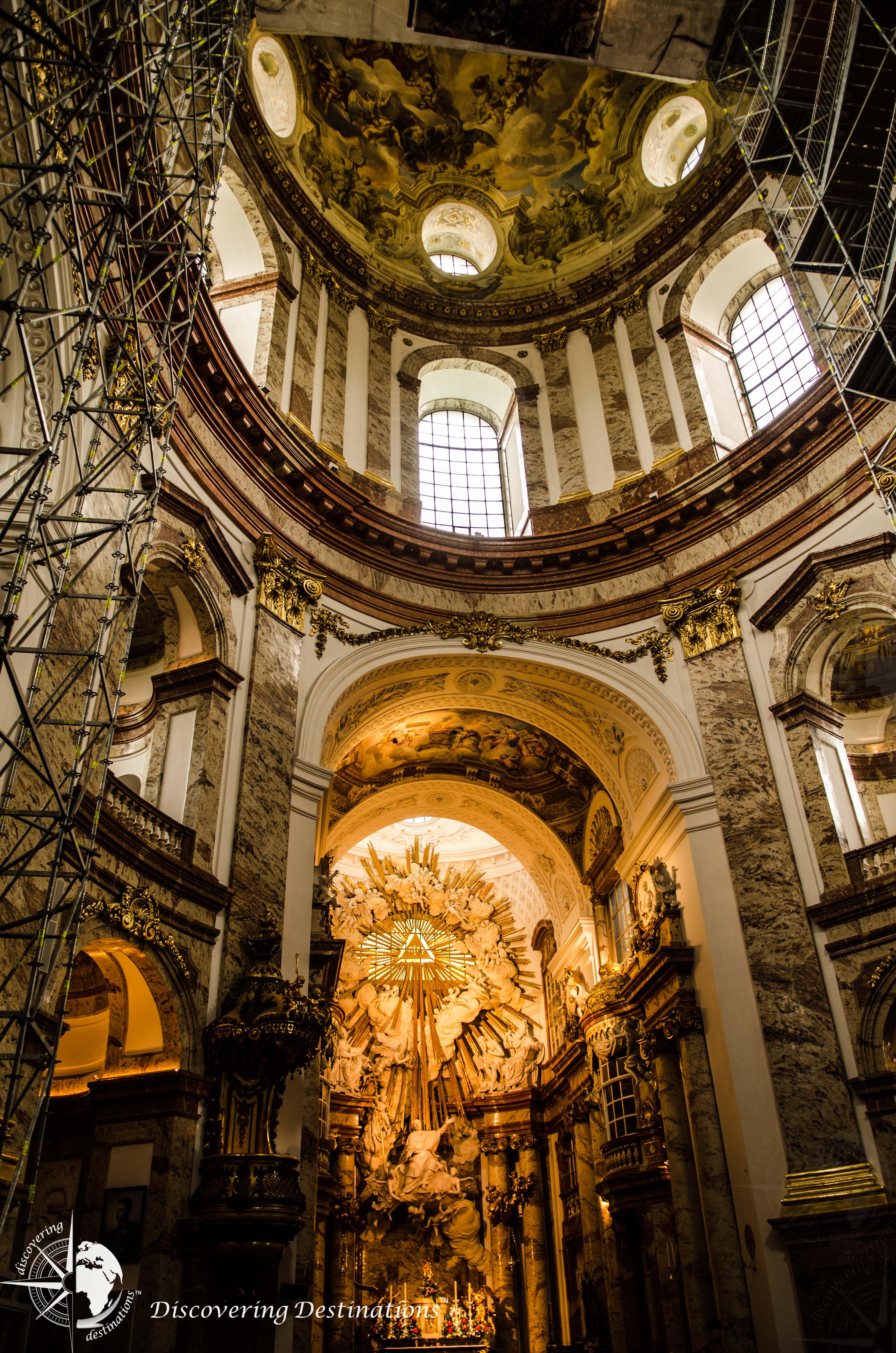 Discovering Karlskirche