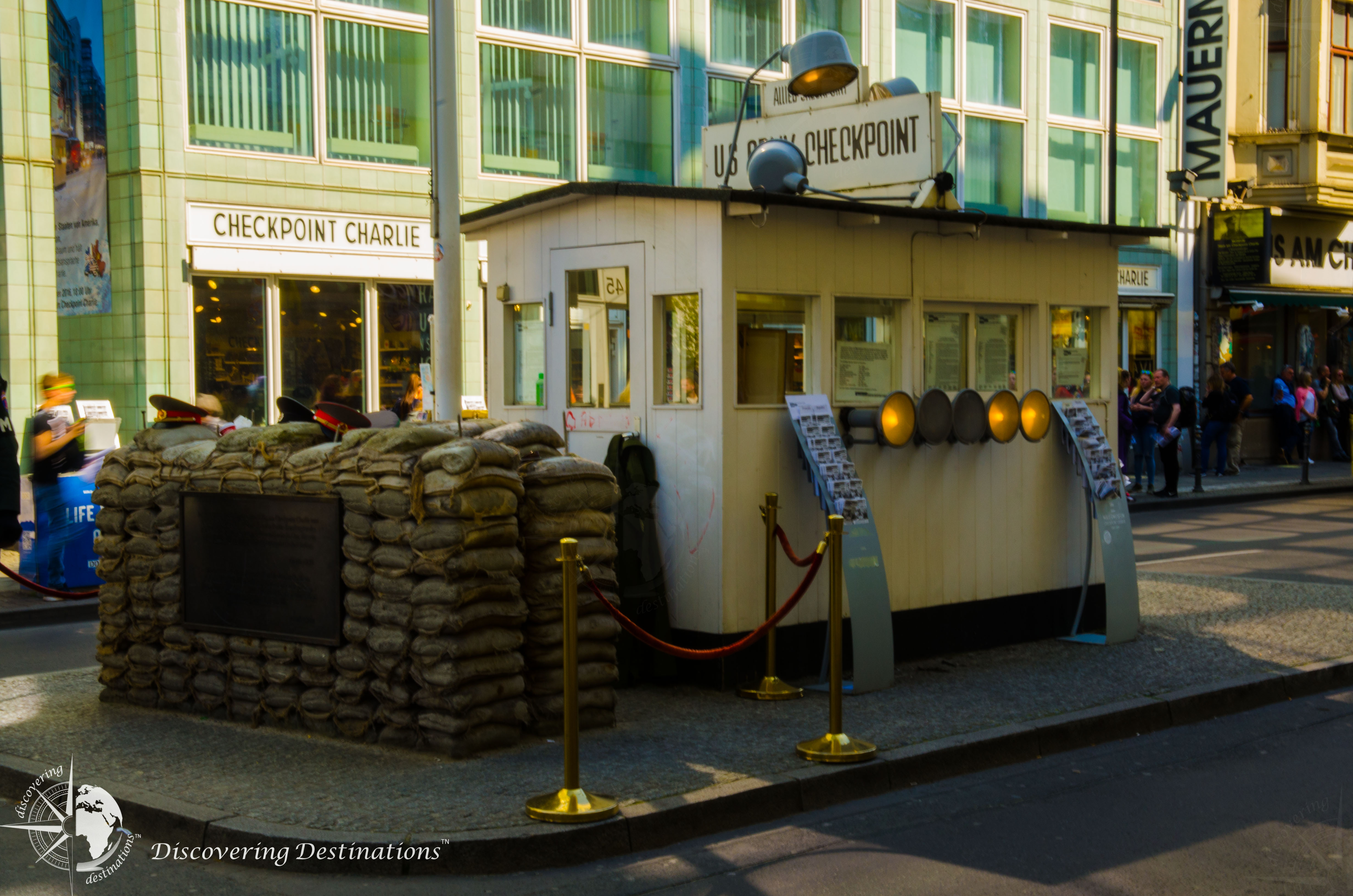 Discovering Checkpoint Charlie, Berlin