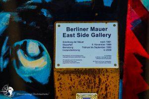 Discovering East Side Gallery, Berlin