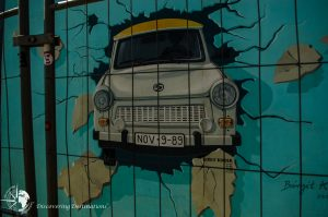 Discovering East Side Gallery, Berlin