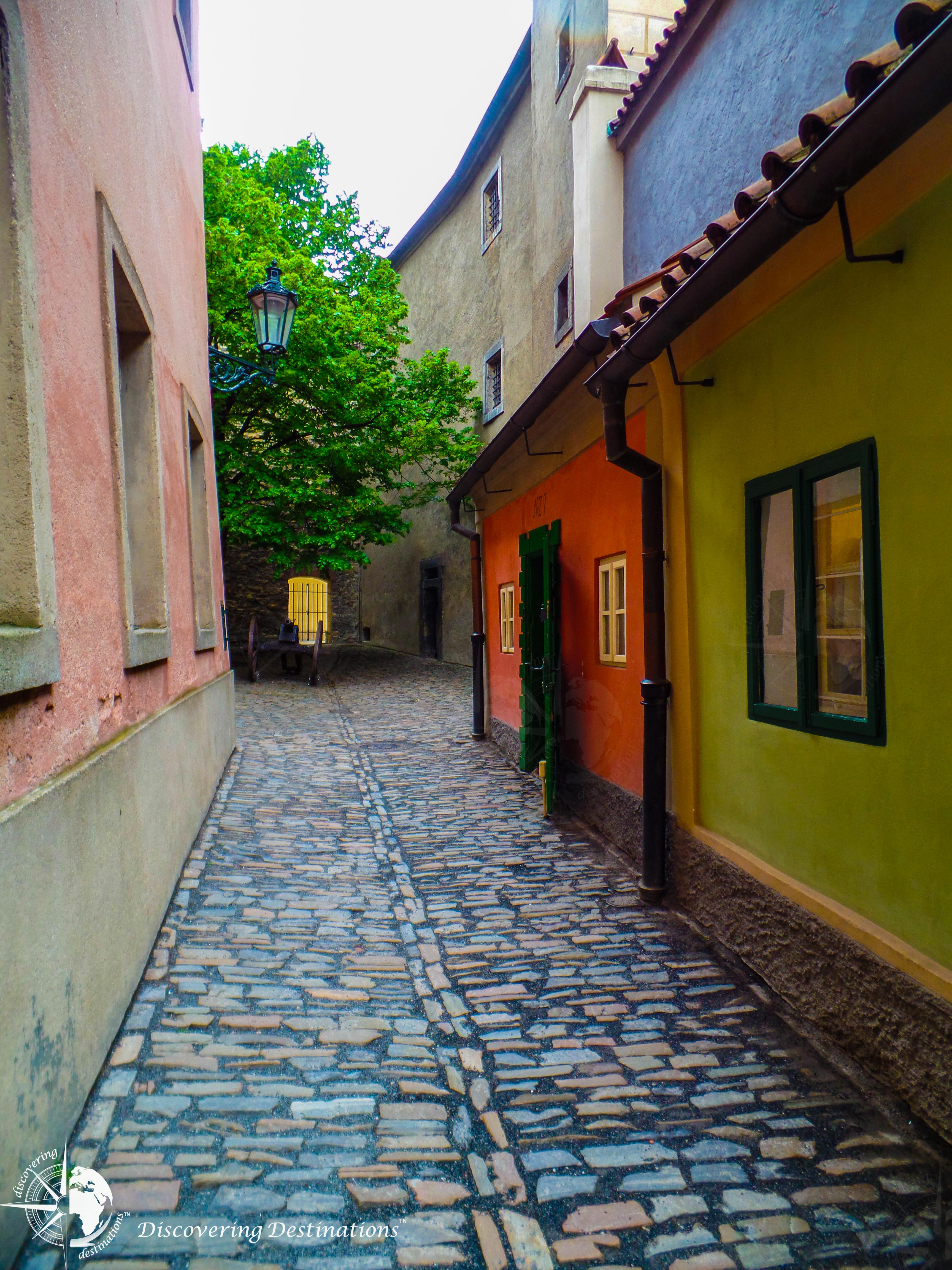 Discovering Golden Lane, Prague