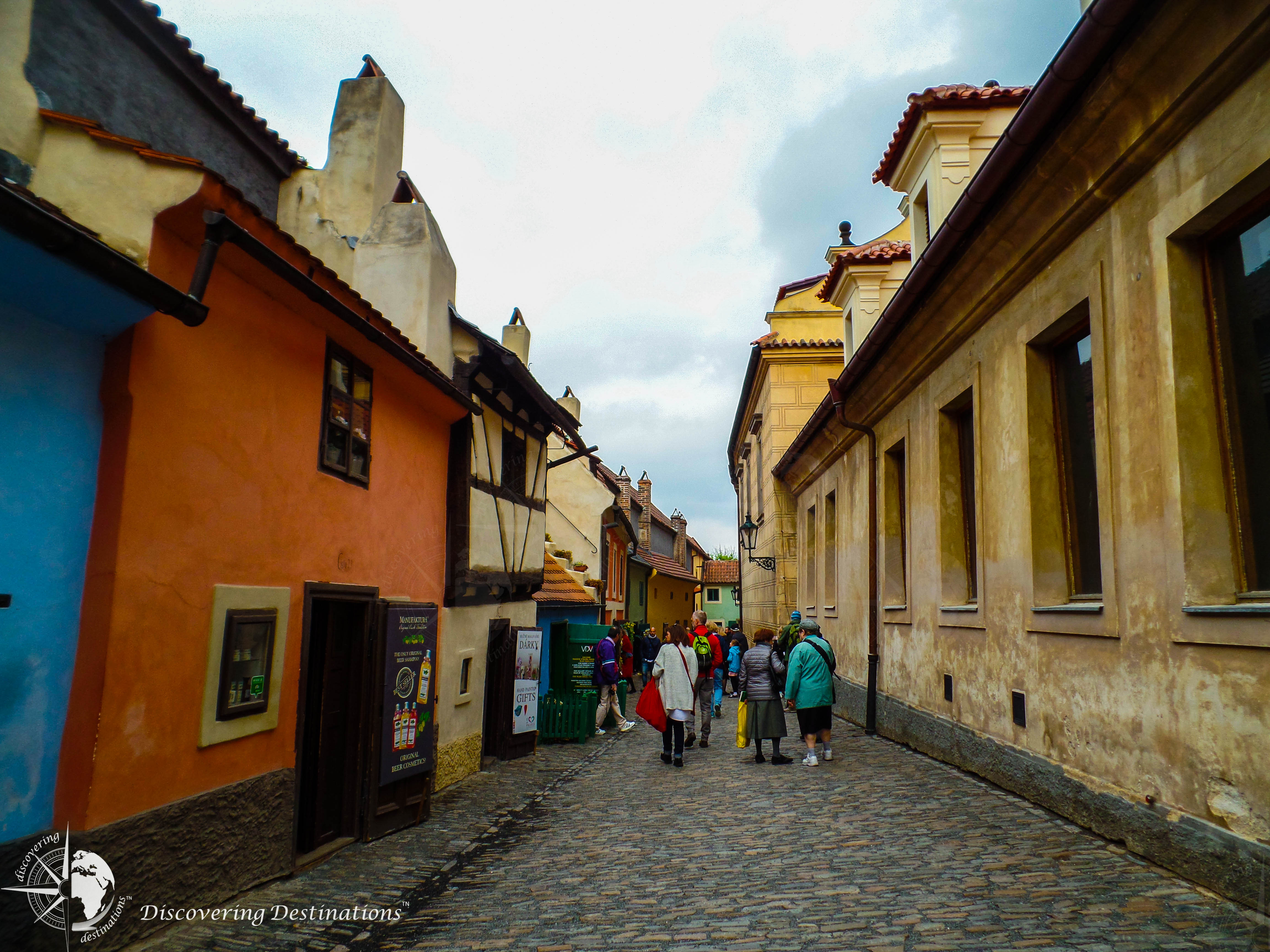 Discovering Golden Lane, Prague