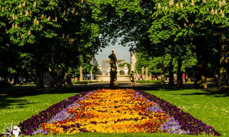Discovering Saxon Gardens, Warsaw