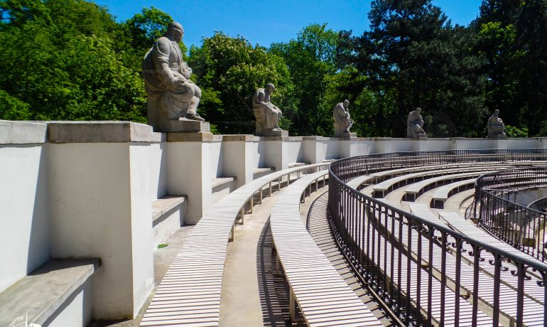 Discovering Lazienki Park, Warsaw