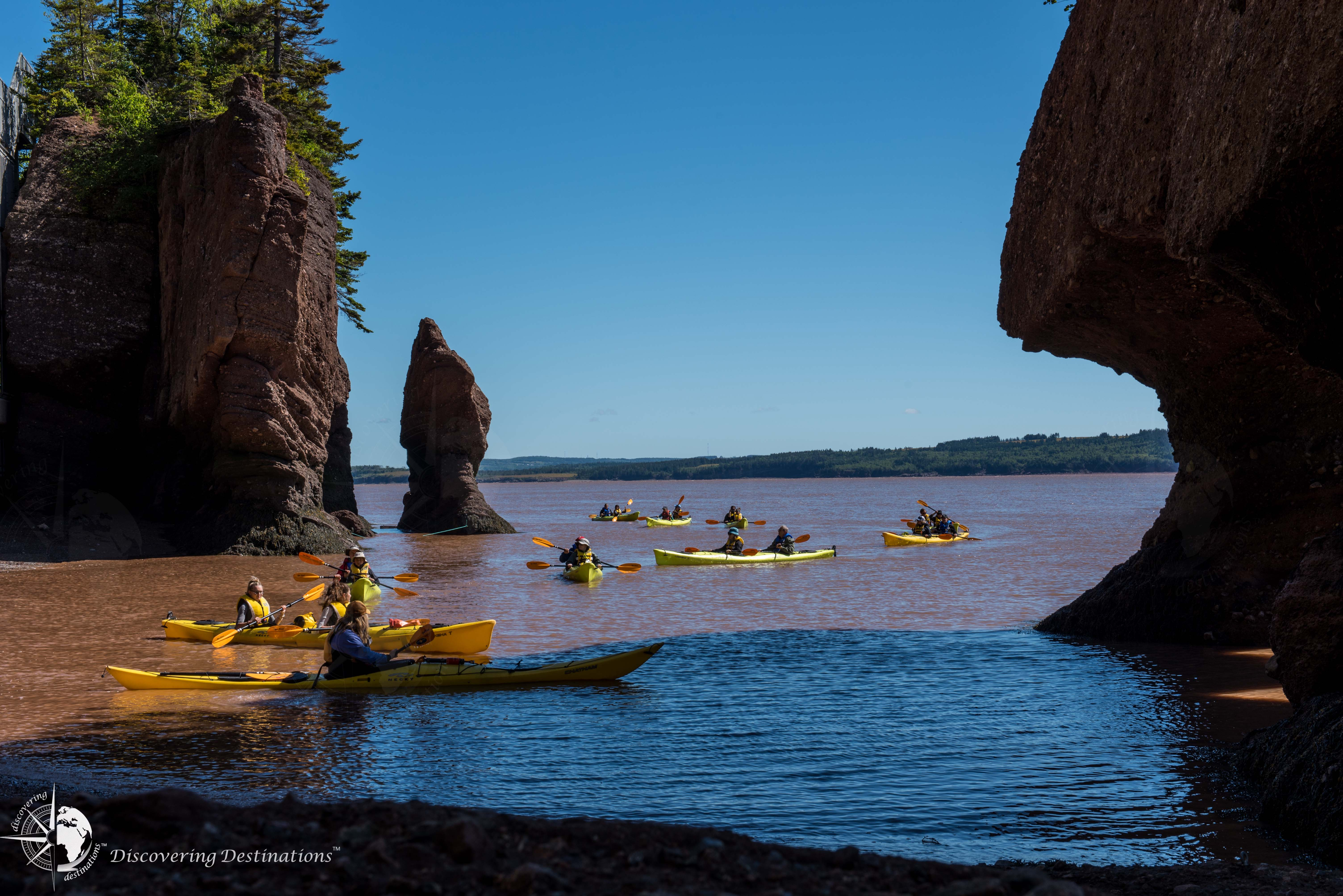 Hopewell Rocks kayak experience