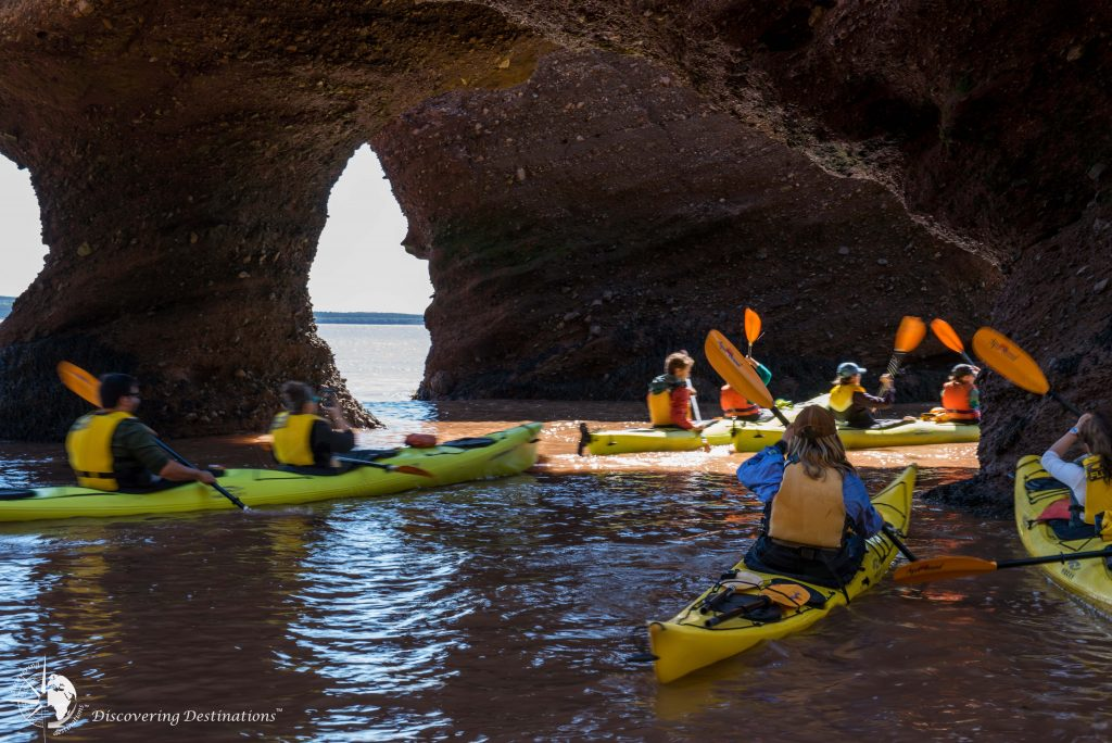 Hopewell Rocks kayak experience