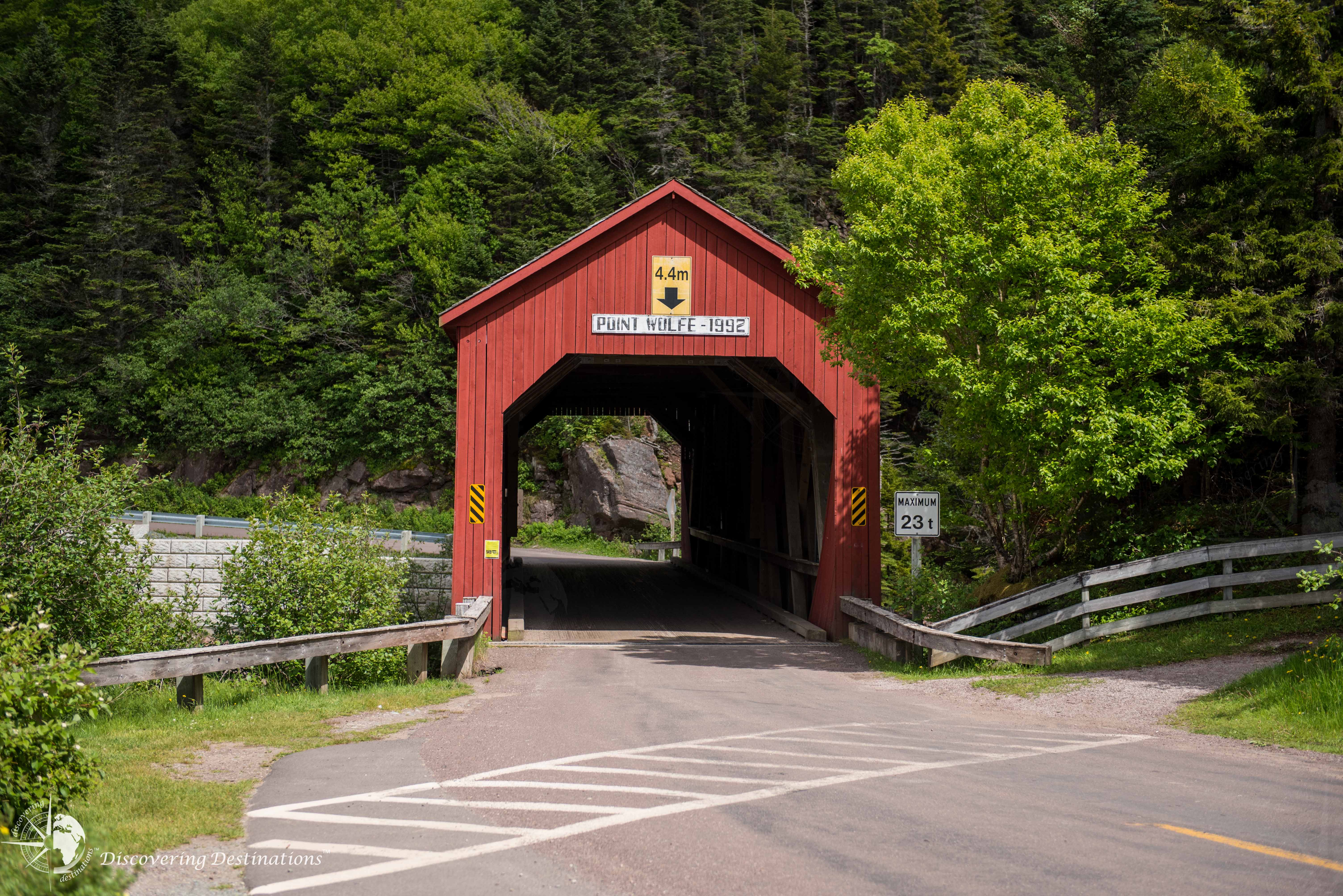 Fundy National Park - Point Wolfe covered bridge
