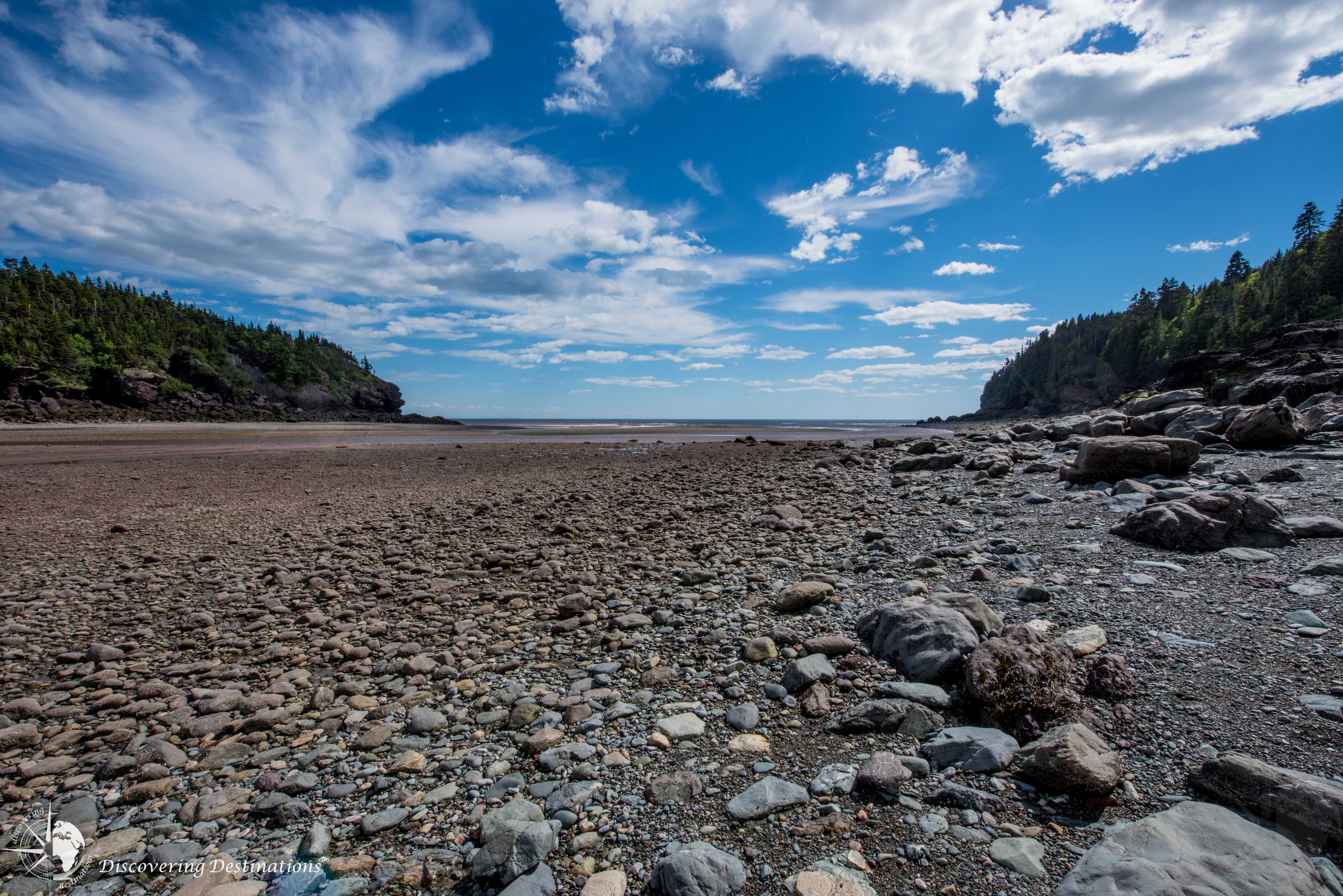 Fundy National Park low tide