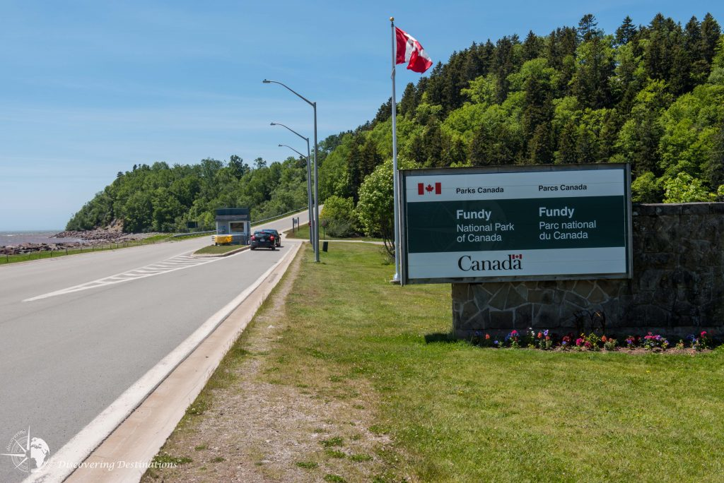 Fundy National Park entrance