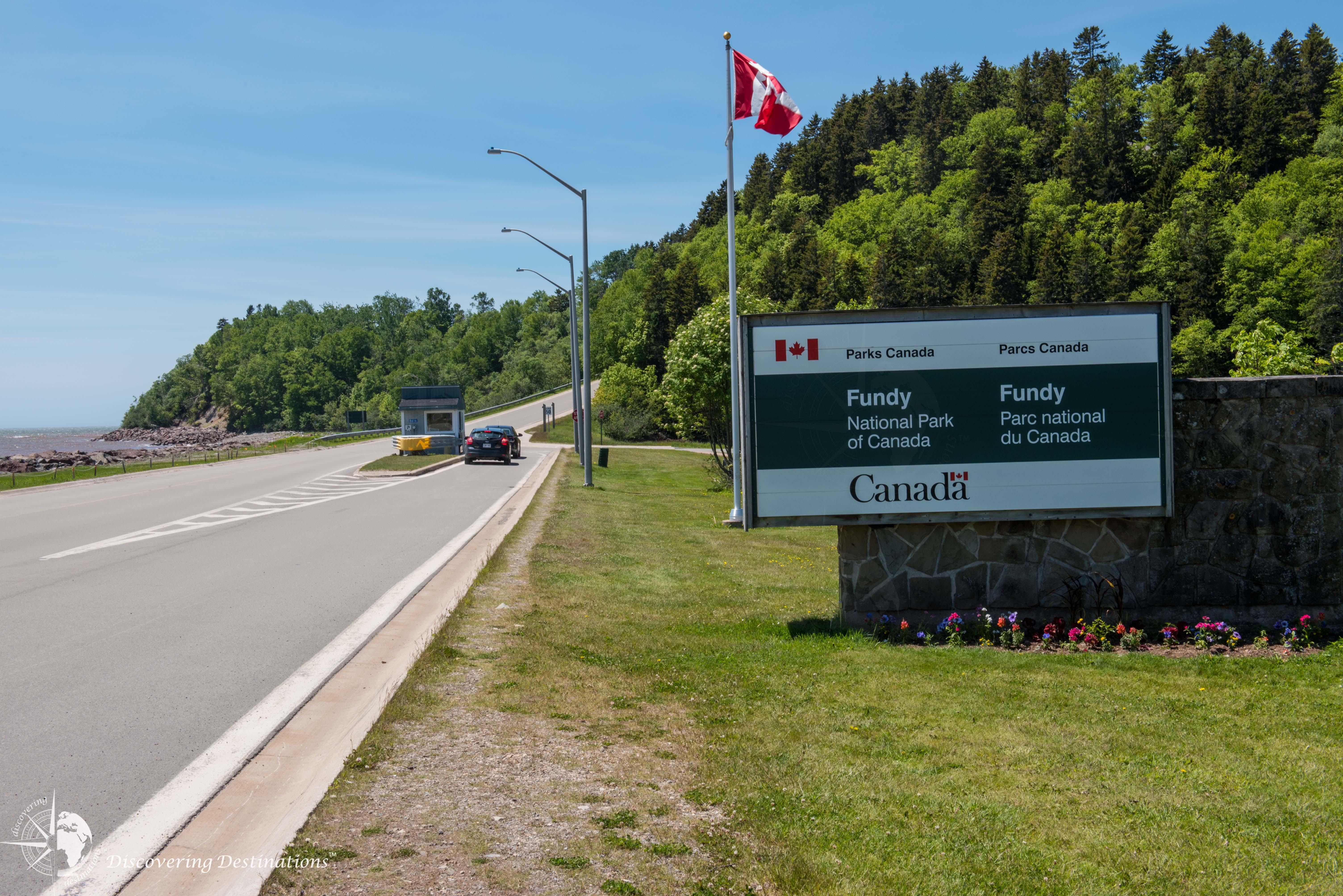 Fundy Park Entrance