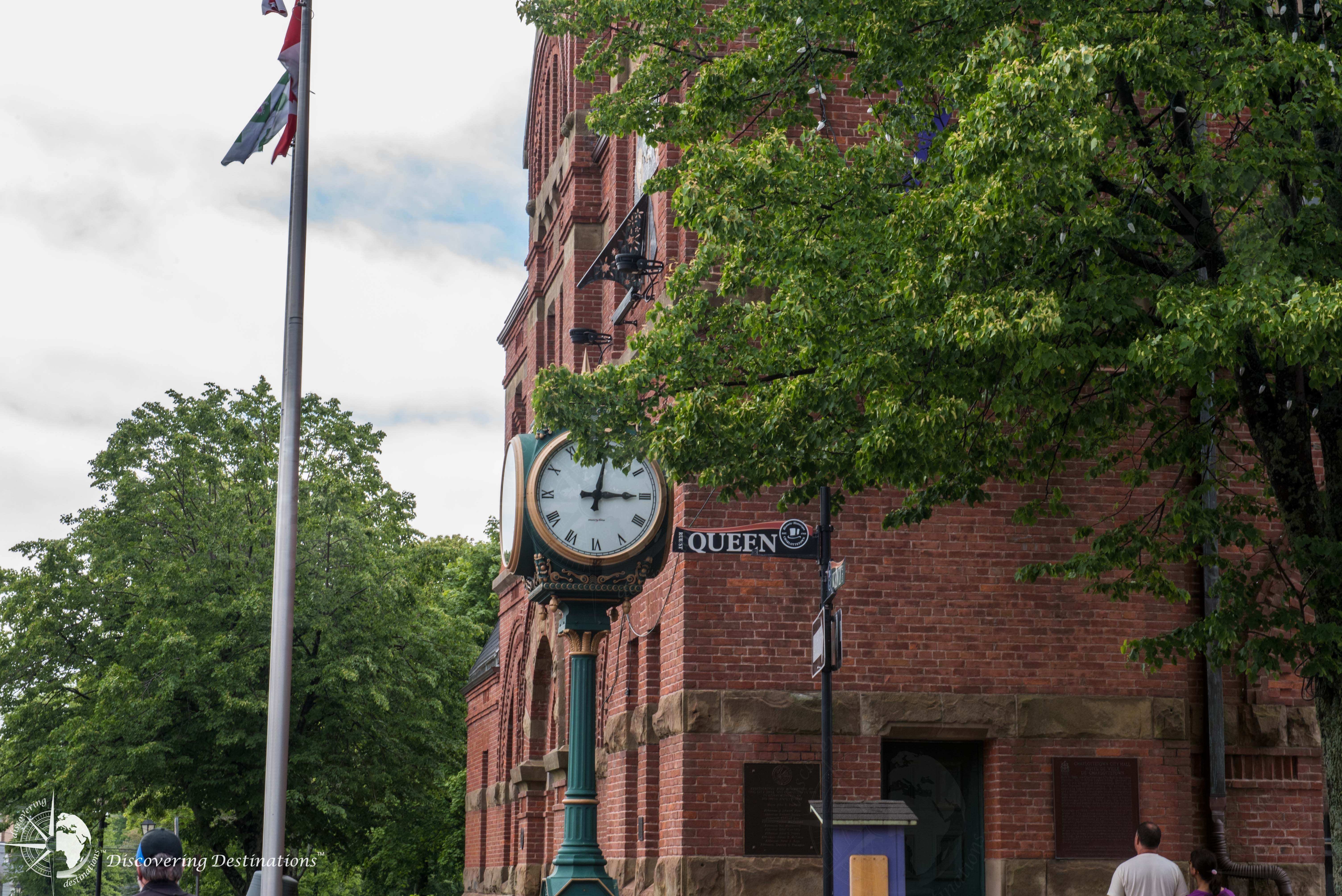 Charlottetown city clock