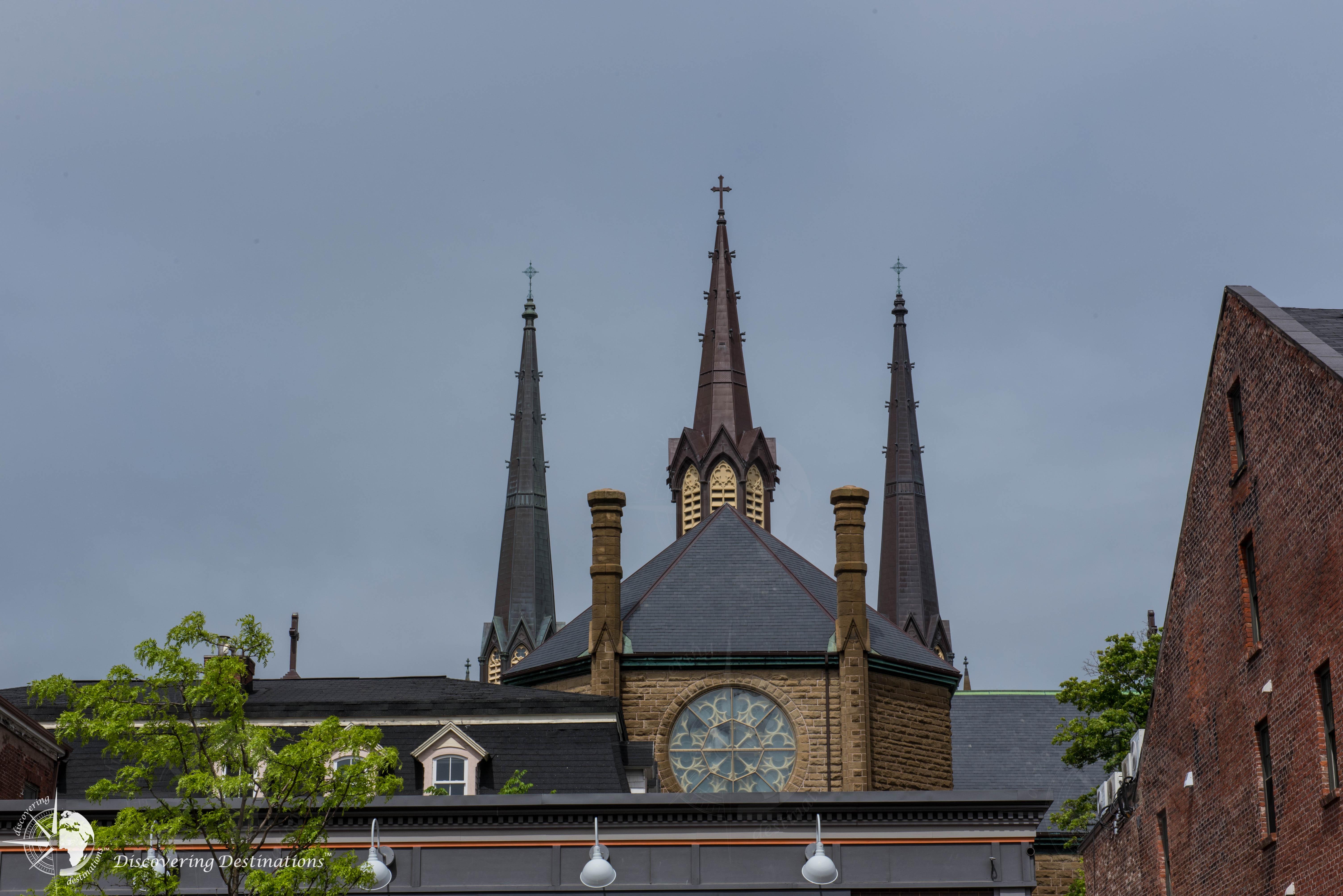 Charlottetown church peaks