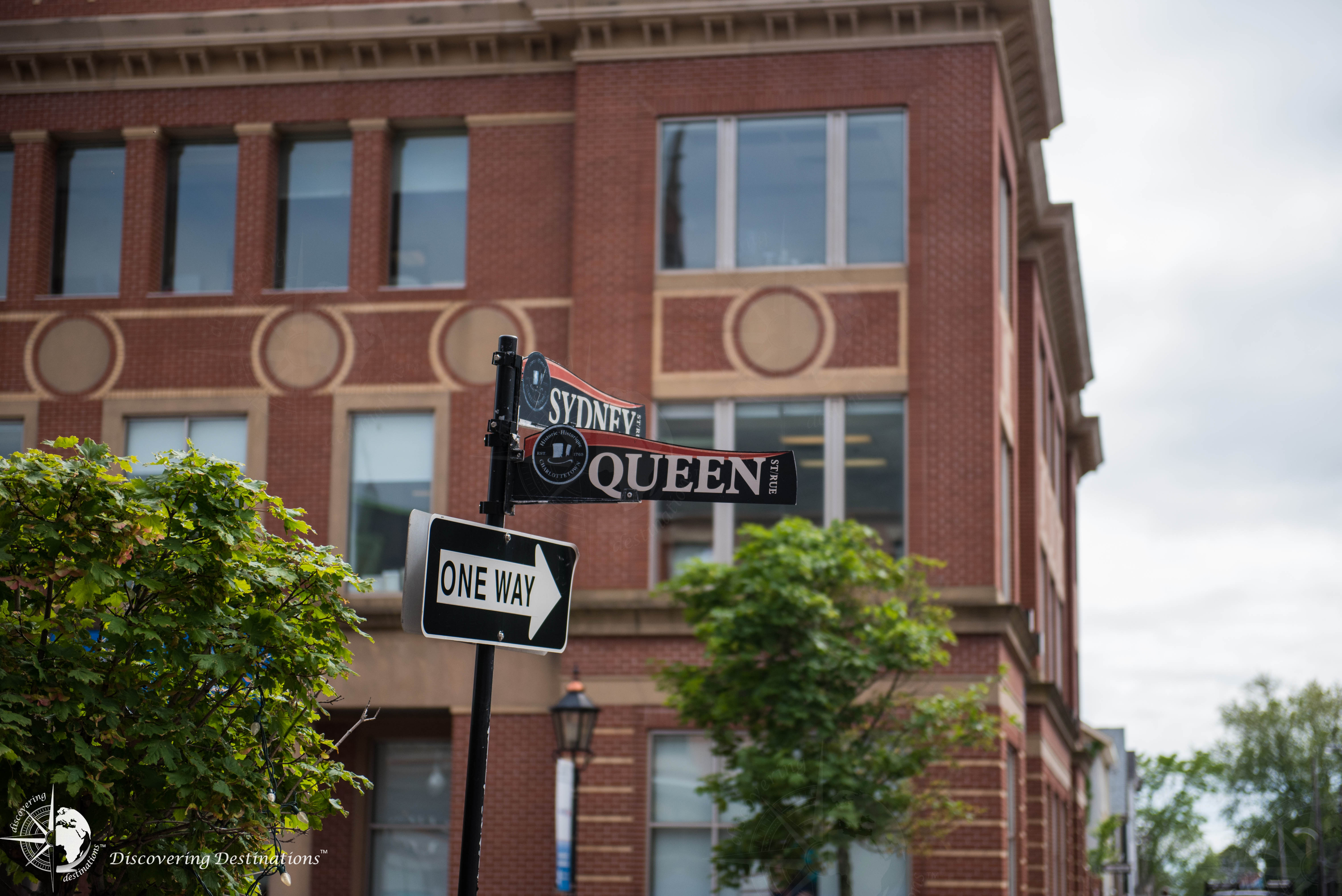 Charlottetown street signs