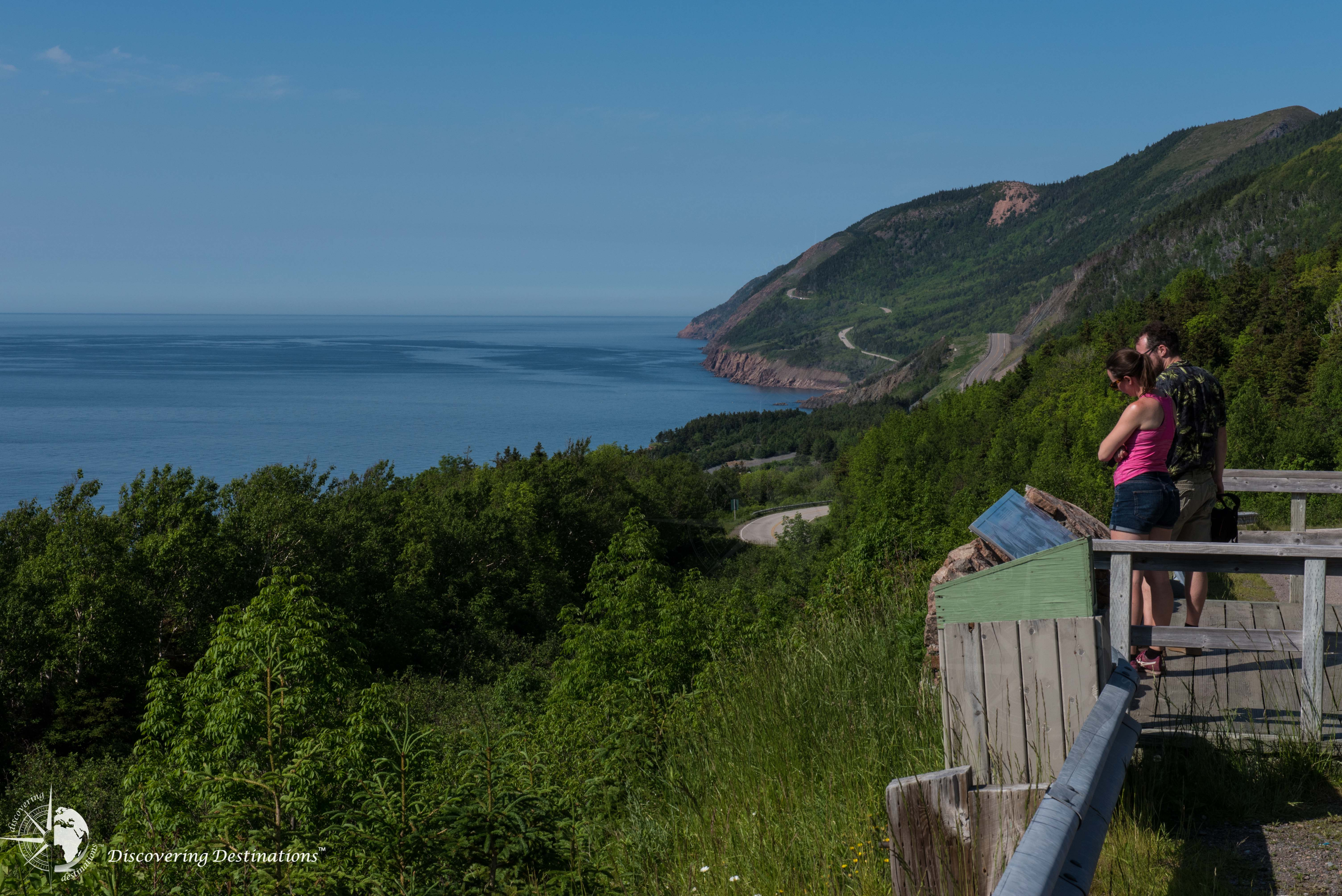 MacKenzie Mountain look-off - The Gulf of St. Lawrence