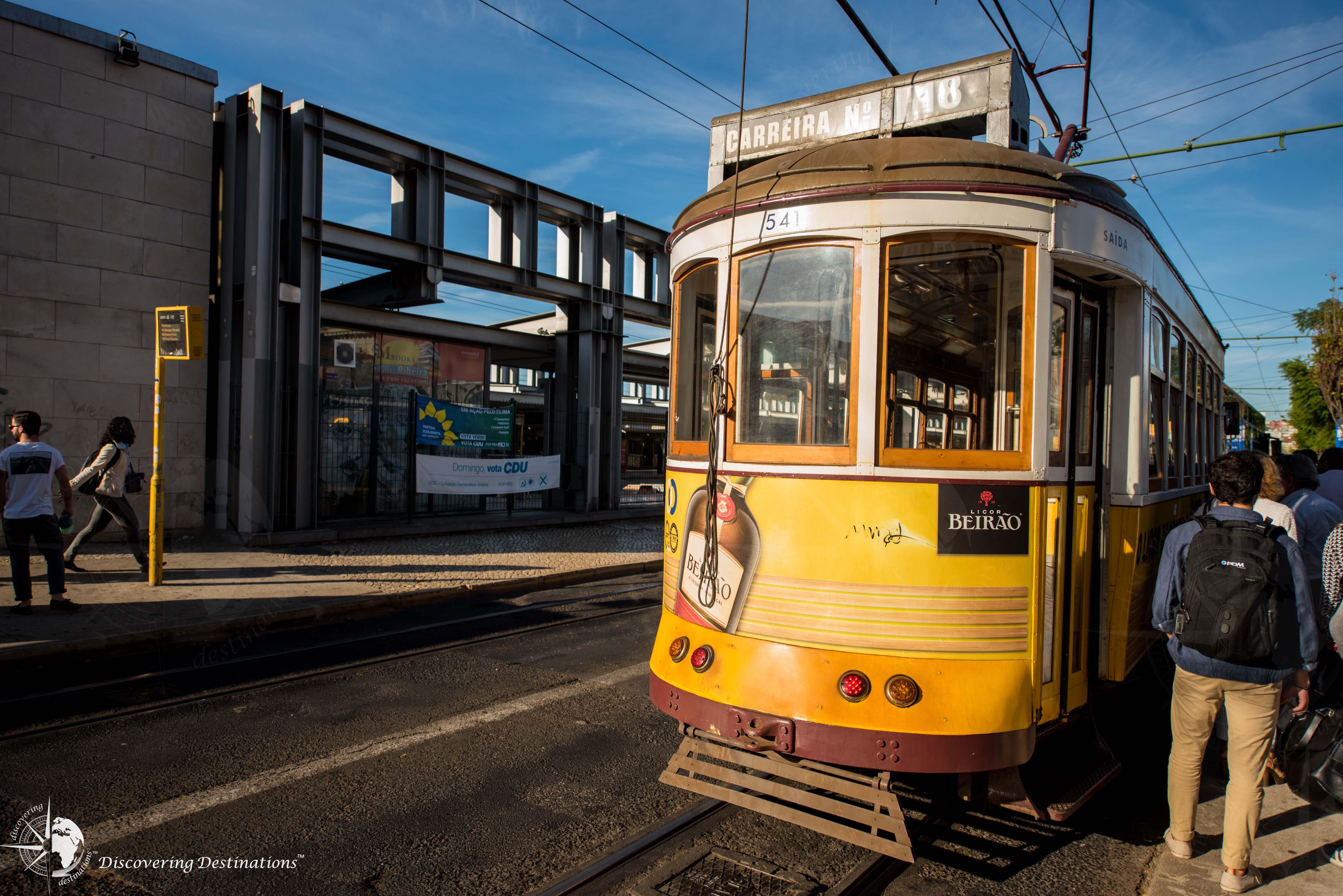 Getting around Lisbon