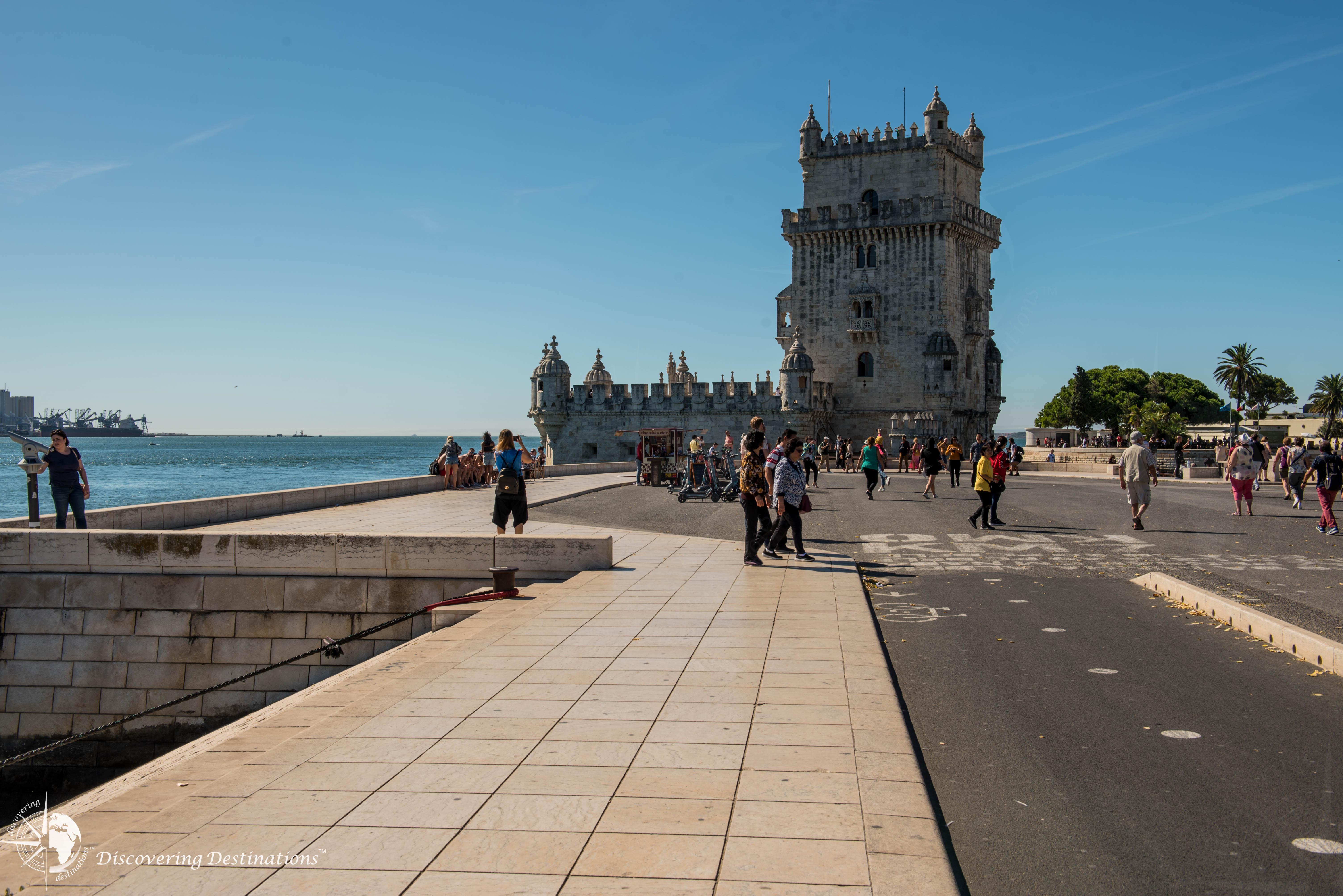 Boardwalk with Belém tower