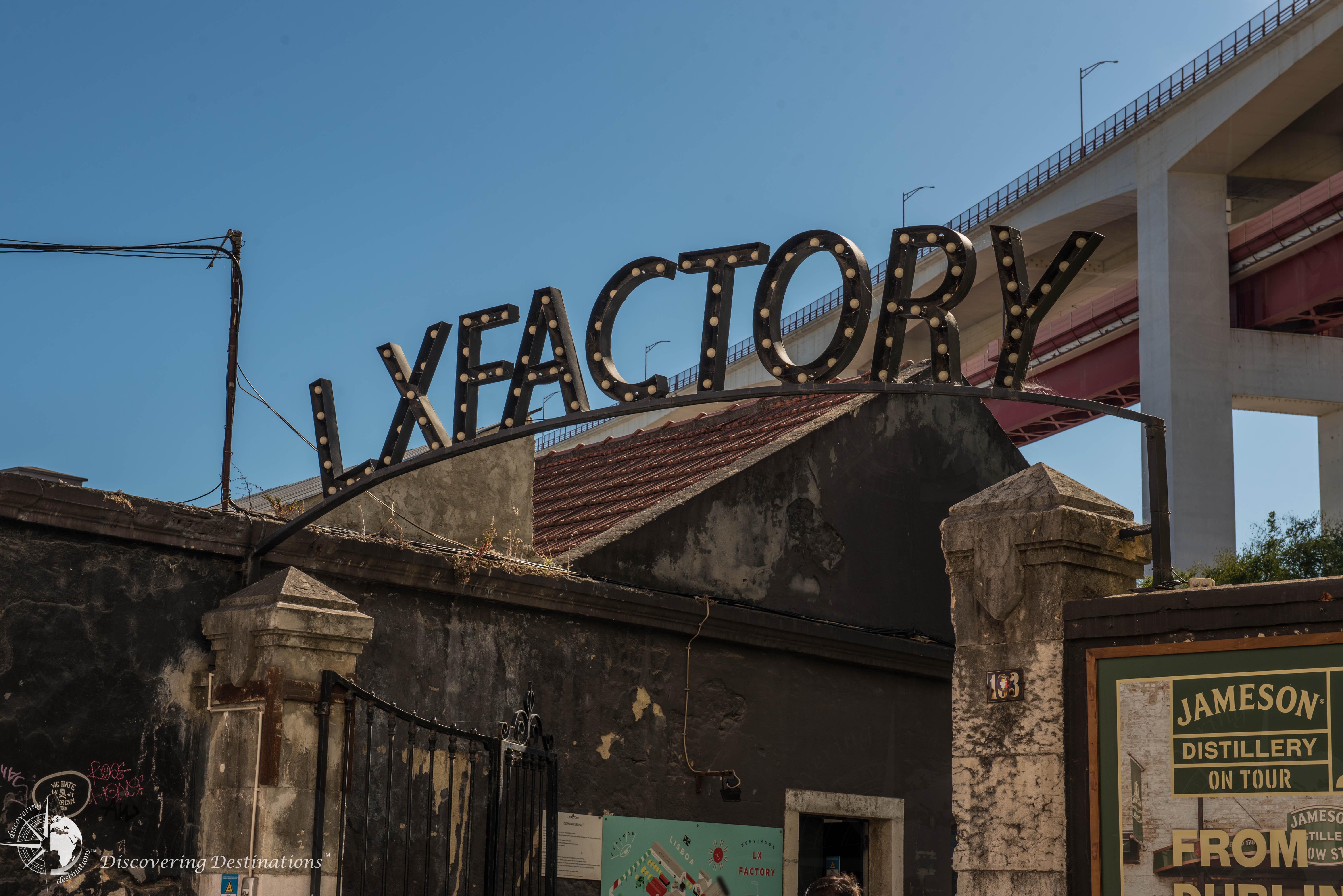 LX Factory entrance