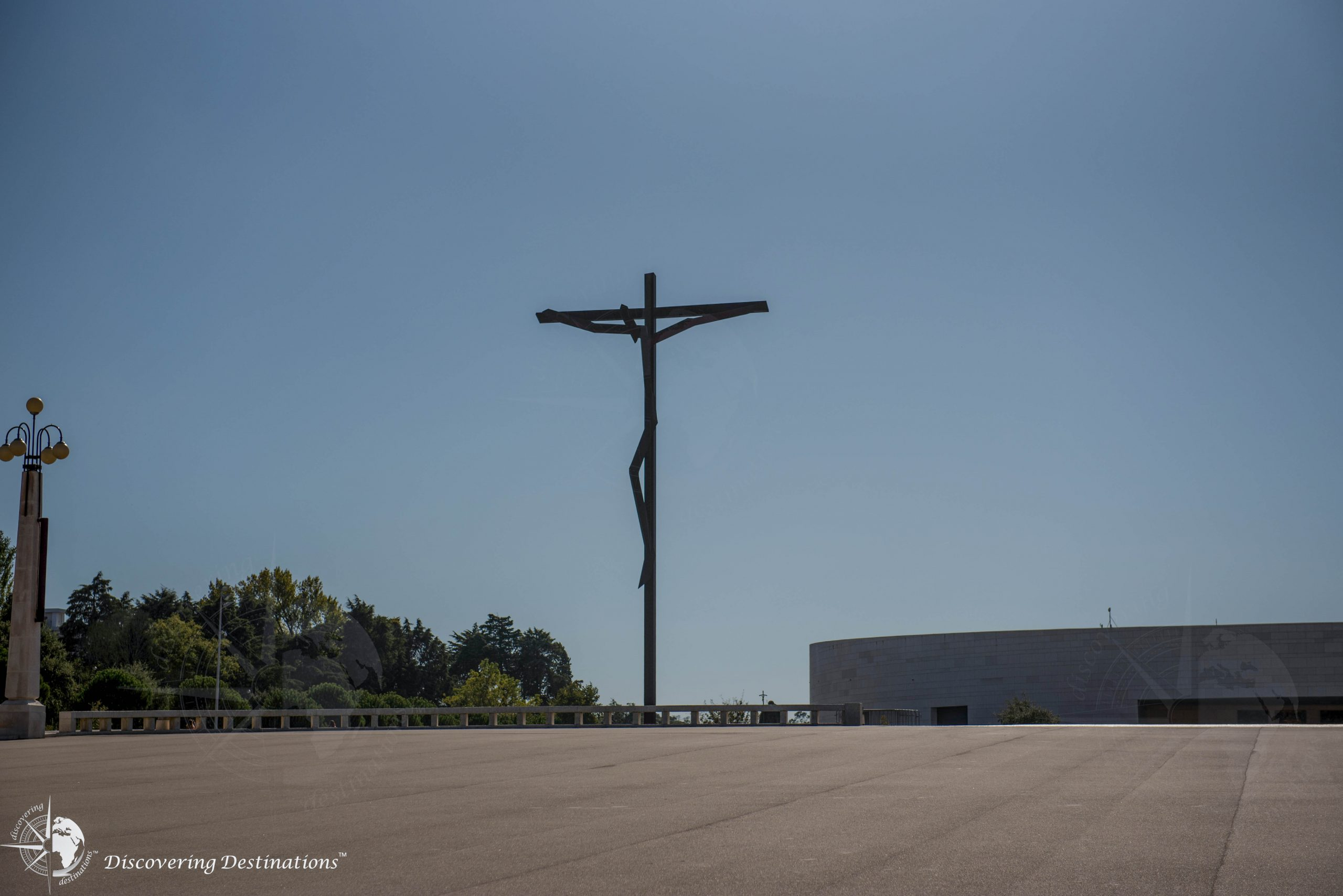the Cross at the Sanctuary of Our Lady of Fátima