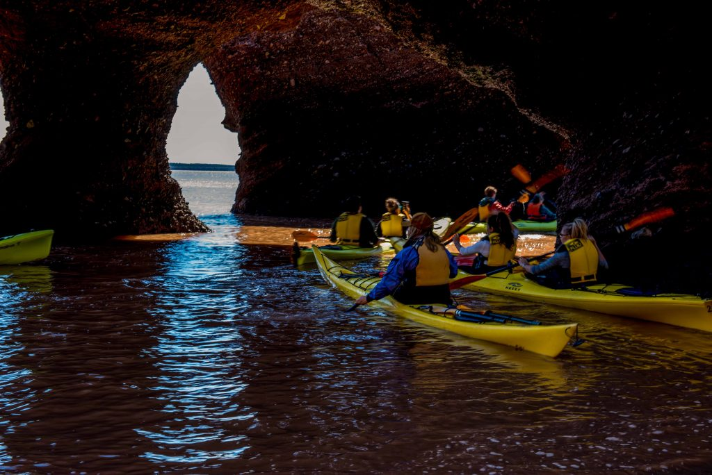 New Brunswick road trip - Hopewell Rocks