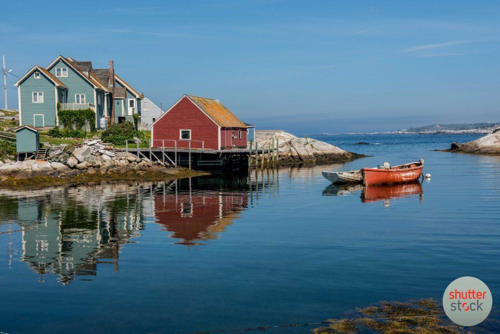 Nova Scotia the sea bound coast