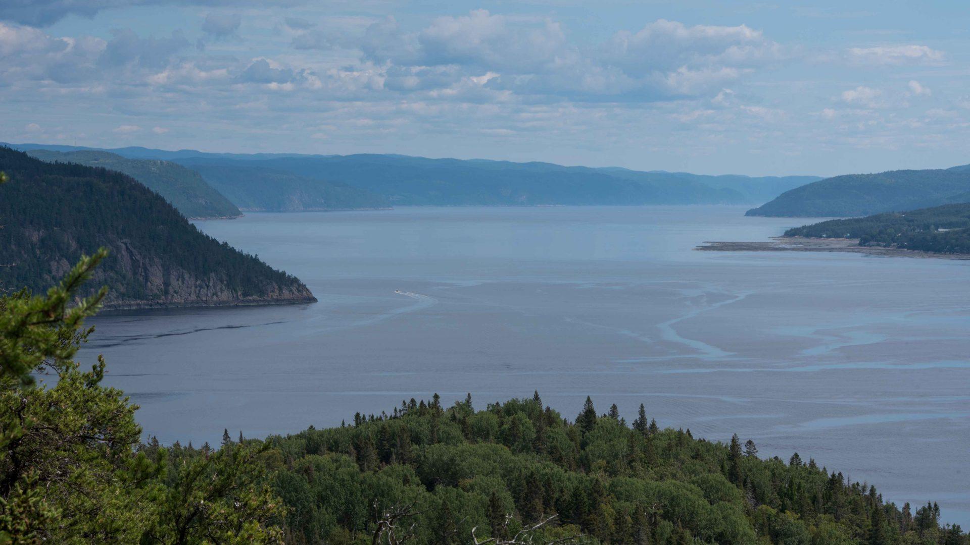 La Baie Saguenay et le sentier Eucher