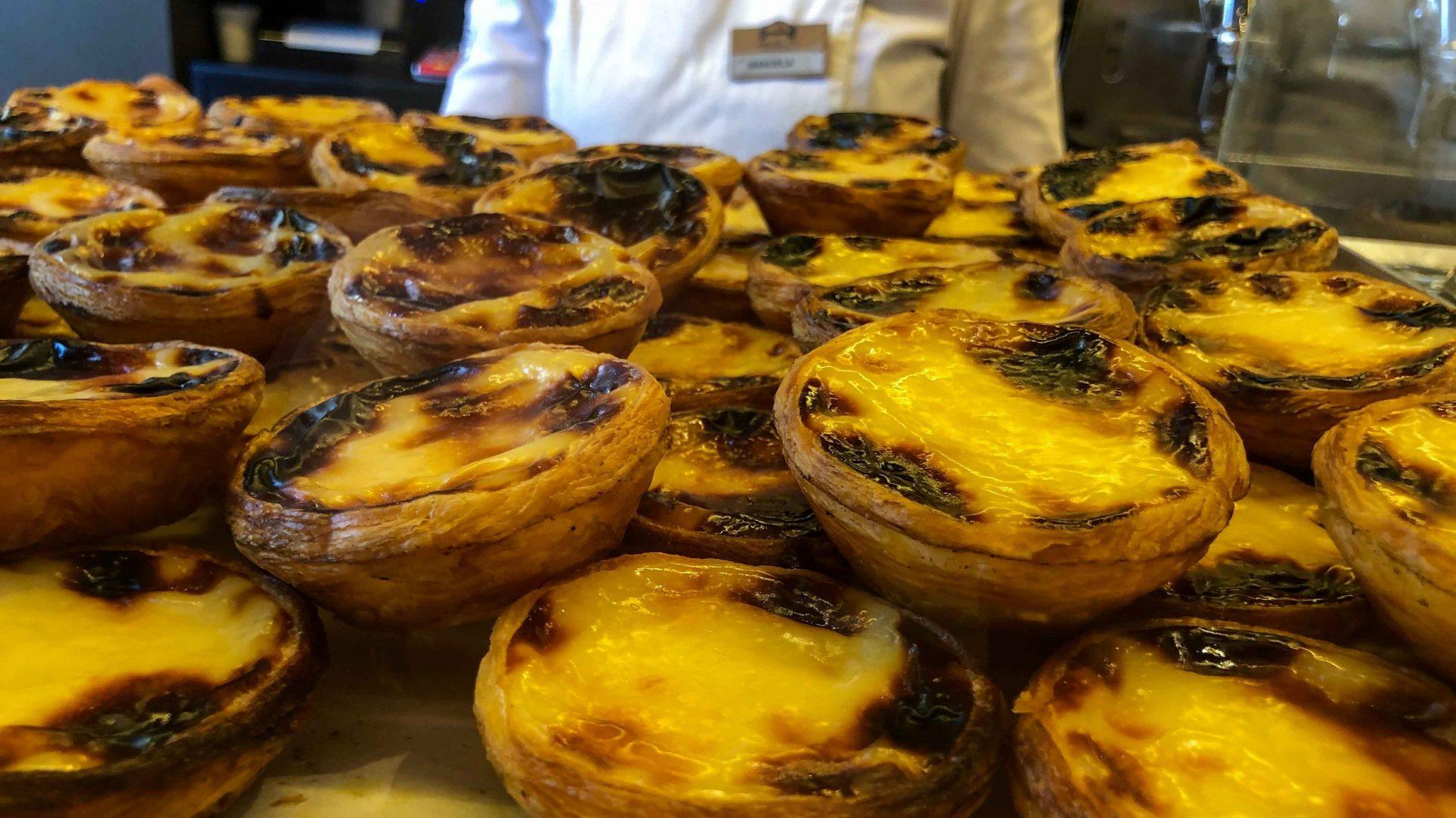 Delicious Natas in Lisbon's Manteigaria