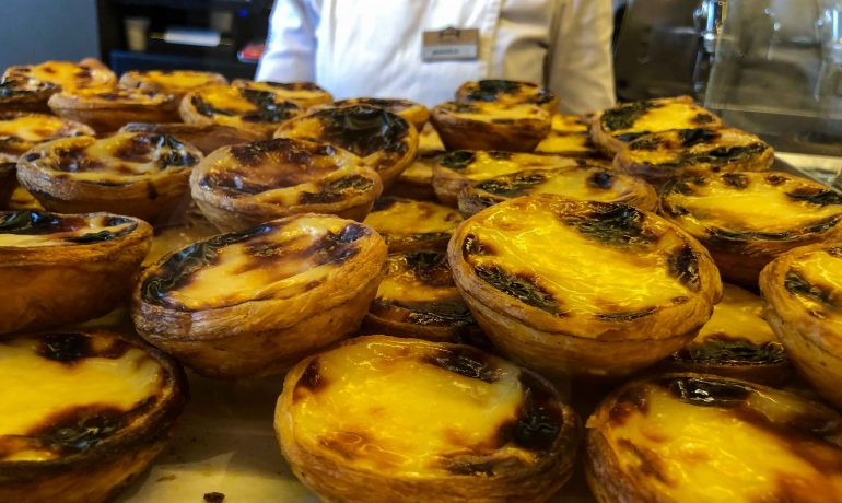 Delicious Natas in Lisbon
