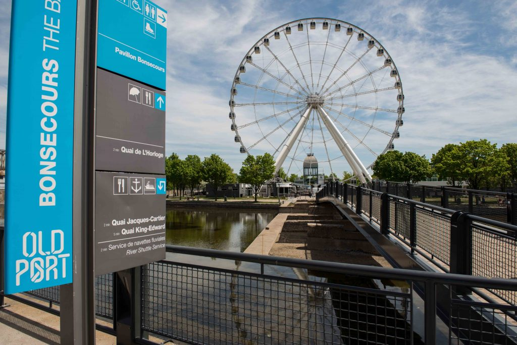 Grande Roue in Old Port Montreal