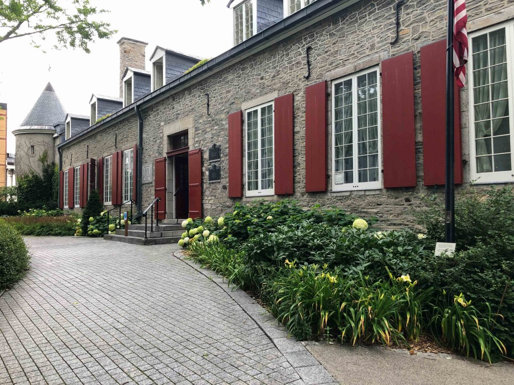 Chateau Ramezay in Old Port Montreal