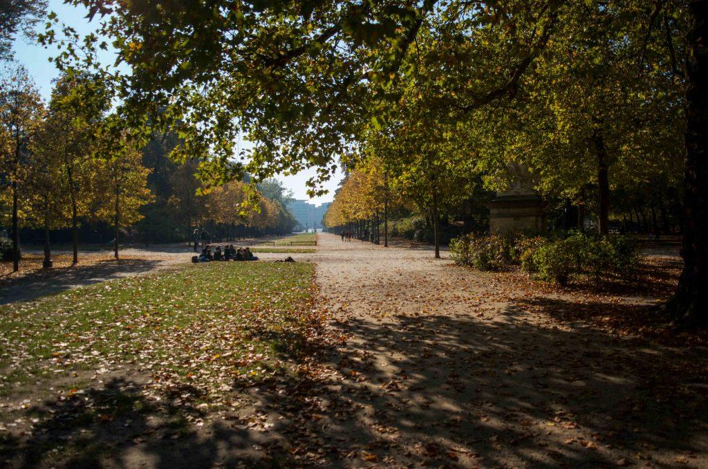 Inside Bruxelles Park