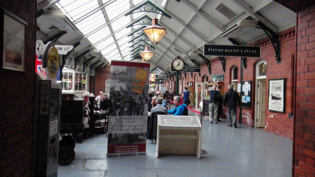 Inside Cobh's heritage museum