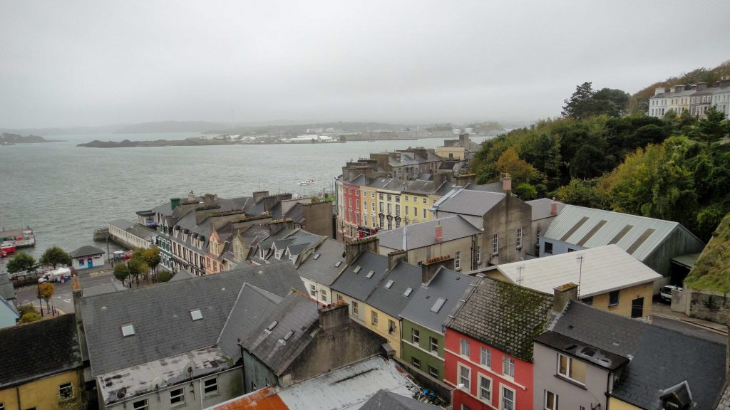 View from St. Colman's Cathedral