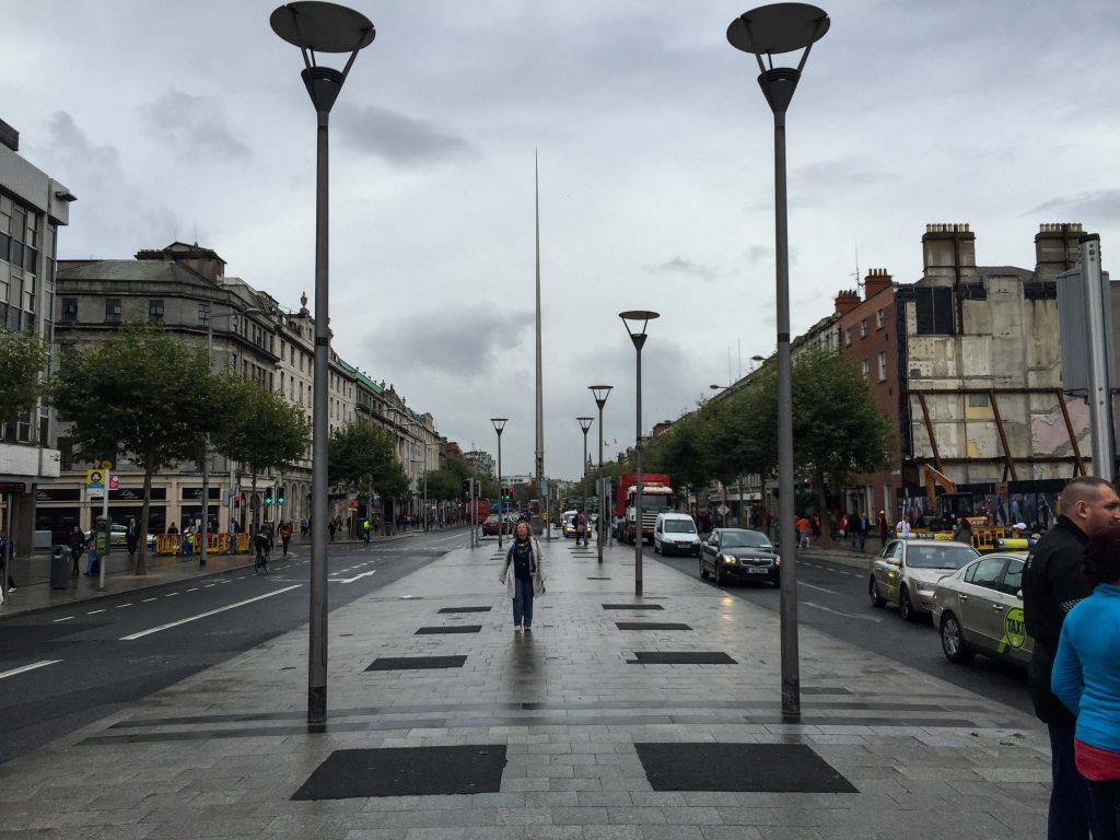 Dublin Ireland Spire monument