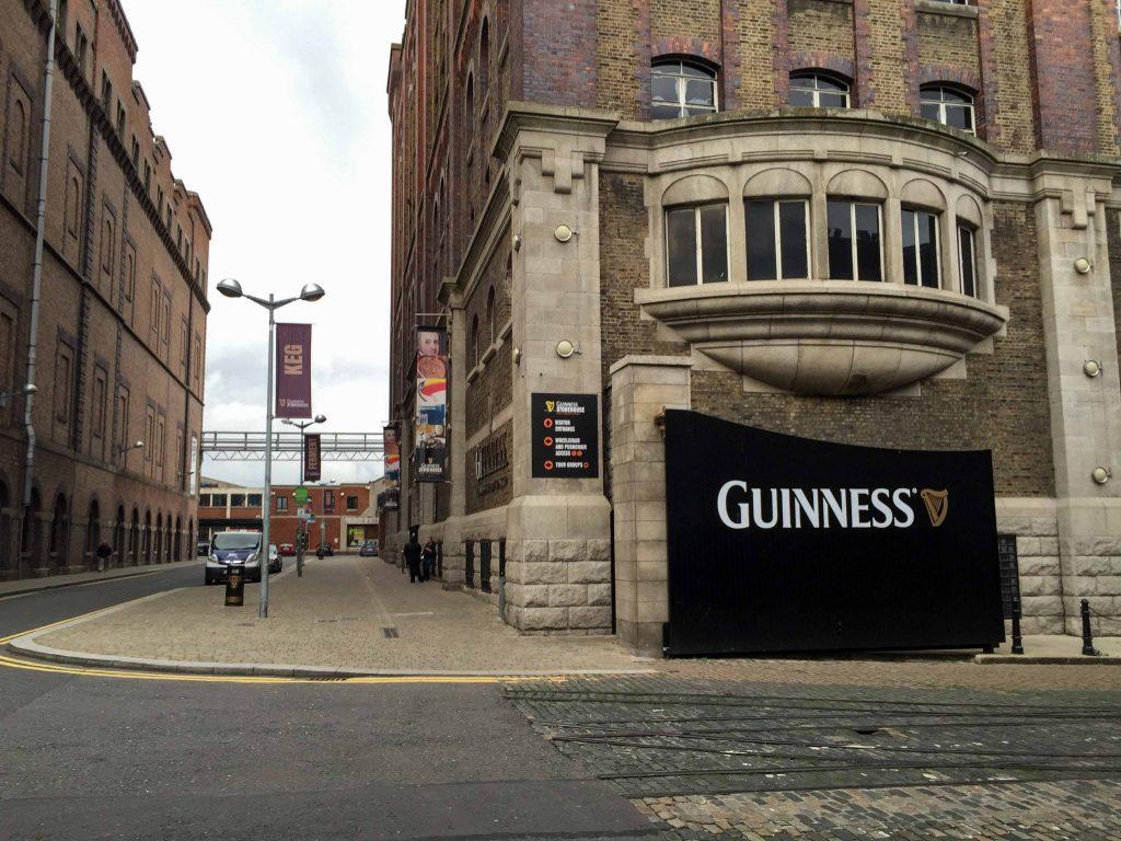 Guinness factory in Dublin Ireland