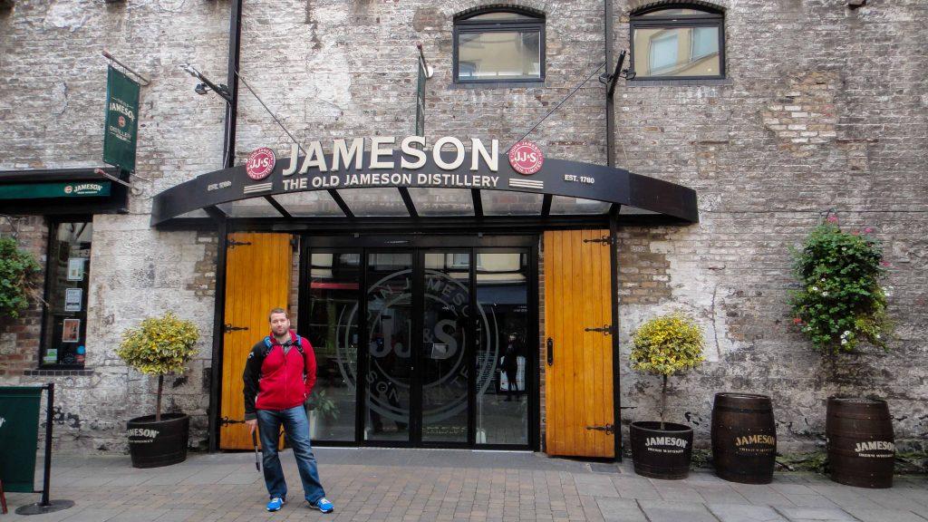 Jameson factory front entrance