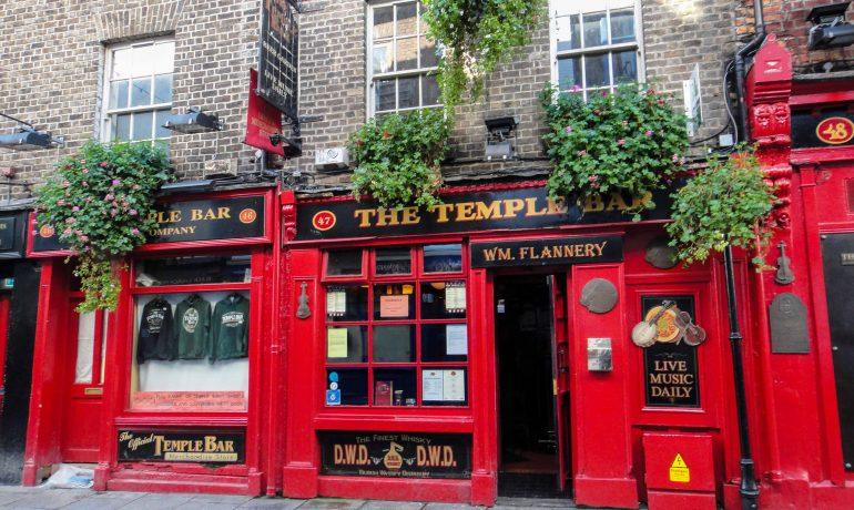 Dublin Ireland Temple bar